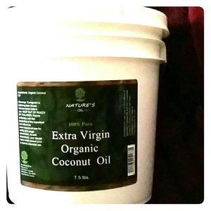 Nature's Oil 100% Extra Virgin Organic Coconut Oil