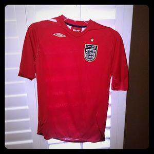 England soccer team jersey
