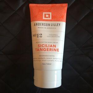 Silician tangerine body cream