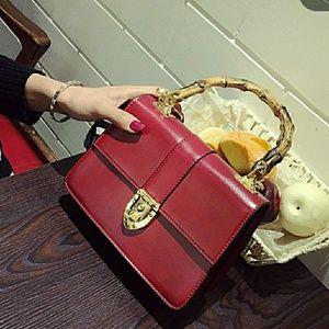 MUST GO 🎉🎉🎉Mini Bamboo Handbag