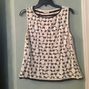 Sz S Anthropologie lace top