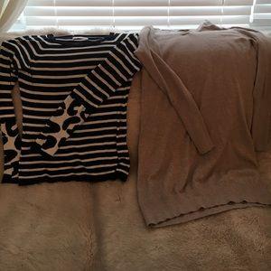 Banana republic size medium sweater bundle