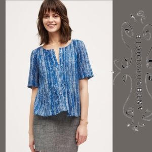 Maeve Orchid Island Top Blue Sz 8