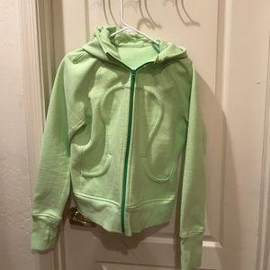 lululemon green scuba hoodie!