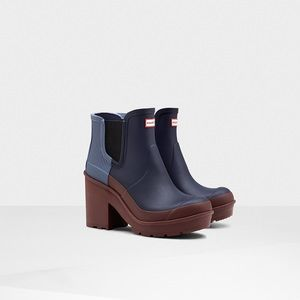 Hunter Chelsea Heeled Boots