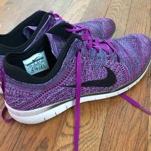 Purple Nike Free 5.0