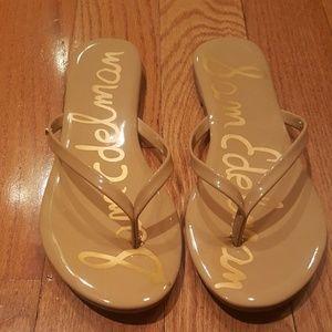 NEW, Sam Edelman Thong Flip Flops, Size 8.5
