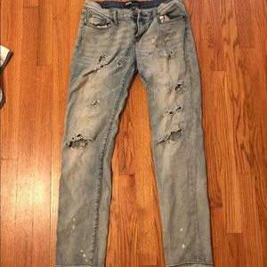 Distressed BDG jeans