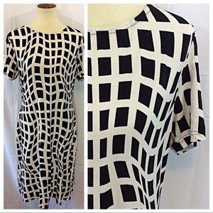 Dresses & Skirts - Windowpane Shirt Dress