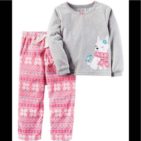 757b80dc51 Carters 2 Piece Pajamas Shirt Pant Sleepwear