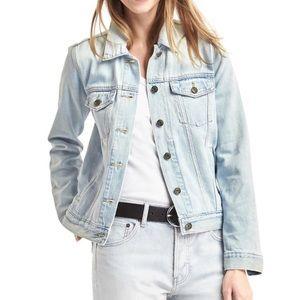 {Gap} light wash denim jacket