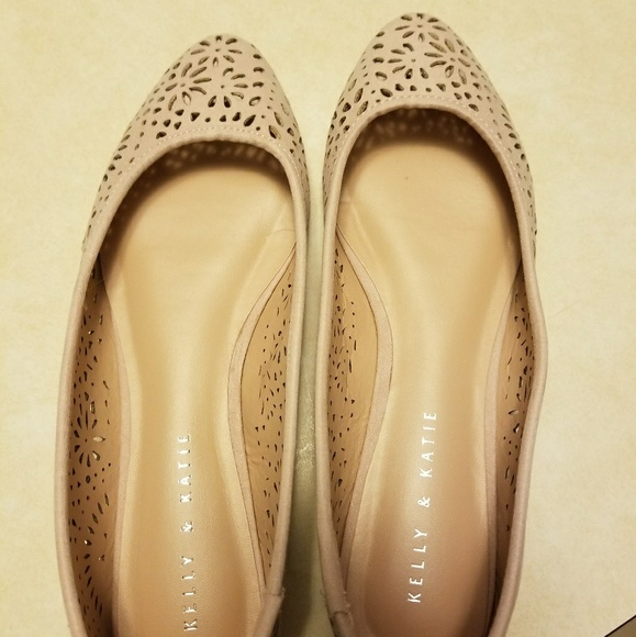 2c63f9477dc Kelly   Katie Shoes - Dark blush flats