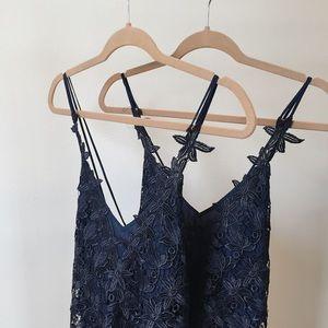 BNWT Chris Gramer Lace Jessica Dress