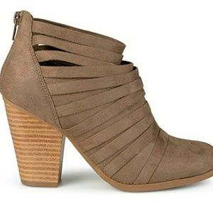 Tan ankle boots