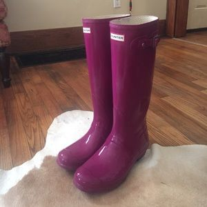 Women's Violet Hunter boots Size 9M! Perfect cond!