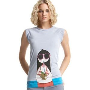 Miss Marc on Vacation Tee M