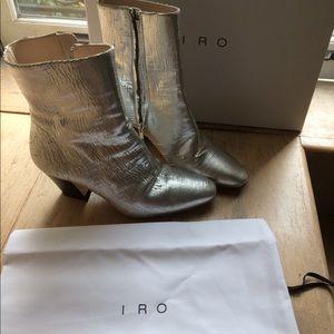 Iro silver boots