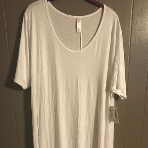 Lularoe solid white 3x perfect