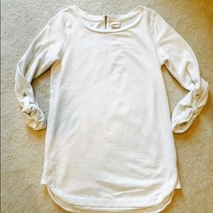 Merona White long sleeve top