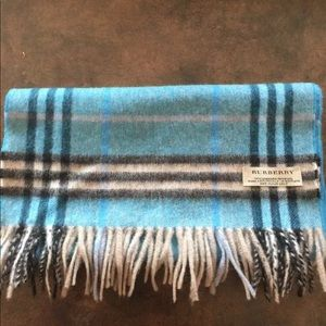 Authentic Burberry Scarf! New! cashmere/ wool
