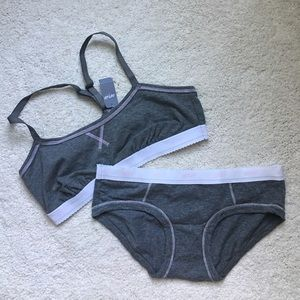 Aerie for American Eagle Bralette and Boybrief Set