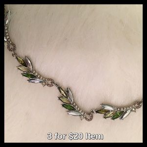 Simply Vera Vera Wang Green Statement Necklace