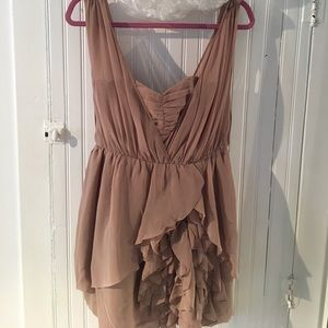 H&M Cocktail Dress with Ruffle Detail