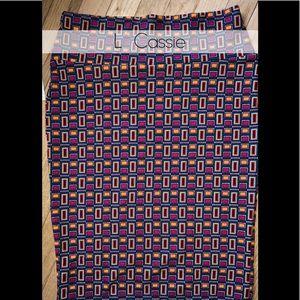 Multi Color Stretchy LuLaRoe Pencil Skirt