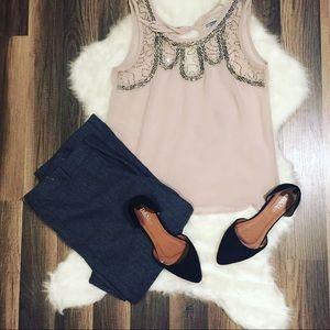 Beautiful sheer dressy top