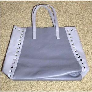 Estee Lauder Large Tote Shoulder bag Blue Gray
