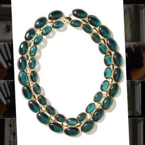NWOT Banana Republic statement necklace jade