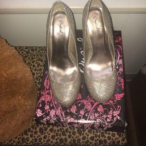 Qupid heels 👠🔥sparkly