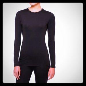 Under Armour-like* Microfiber Long Sleeve black