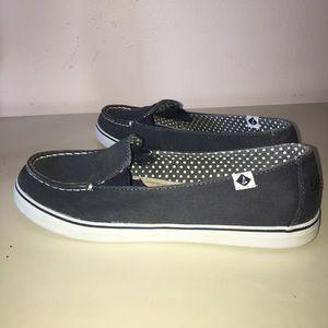 Sperry's Navy Blue Slip-On Boat Shoe Sneakers