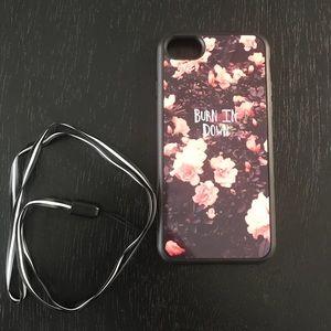 """🔥 iPhone 7 """"Burn in Down"""" Case 🔥"""