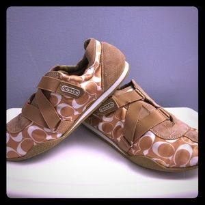 Authentic COACH SNEAKERS.