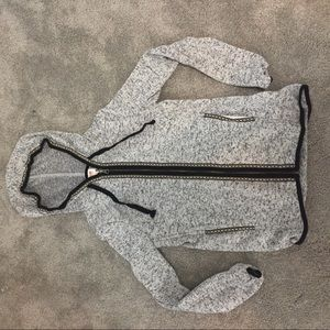 Zip up tribal Aztec hoodie
