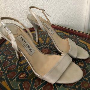 Jimmy Choo Grey/Silver Heels