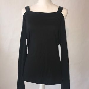 Fabletics Khloe L/S Cold Shoulder, Size XXL