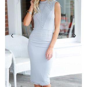 Infinite love grey dress