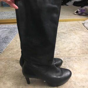 Rockport black boots