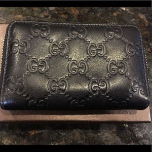 Authentic Gucci Guccissima Coin Purse Wallet