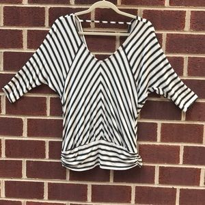 Ella Moss striped top with low back