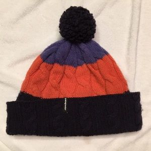 Patagonia cable knit winter hat