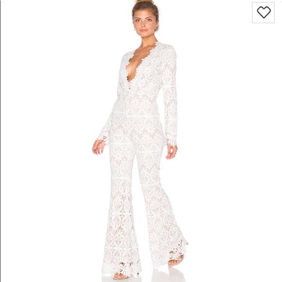 8f5c6b0b46c Stone cold fox- Saint white jumpsuit