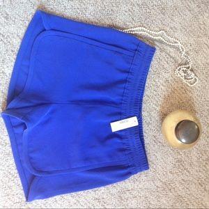 NWT J.Crew elastic waist track shorts