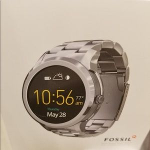 Fossil Q Founder Gen 1 smart watch silver