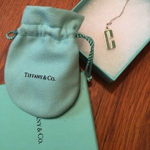 Tiffany & Co. letter C Chain 18in
