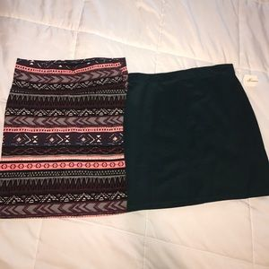 Large skirts