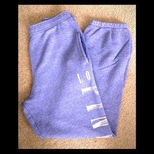 Blue/ Purplish VS PINK Sweatpants